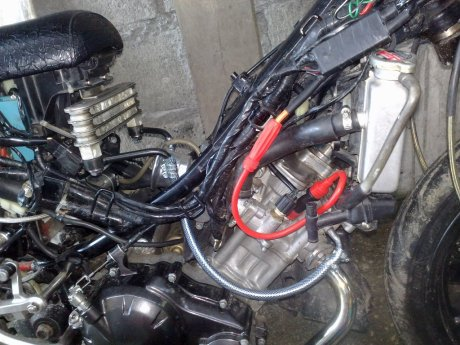 Double Cooler Untuk Yamaha Jupiter MX      Pendinginan Lebih