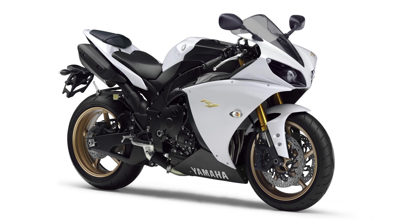 White Yamaha R6 Wallpaper