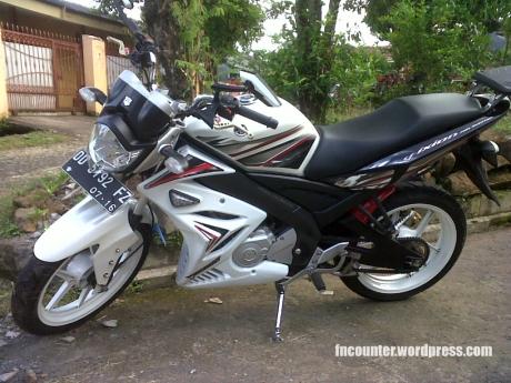 Yamaha Vixion Si Putih Ala R6