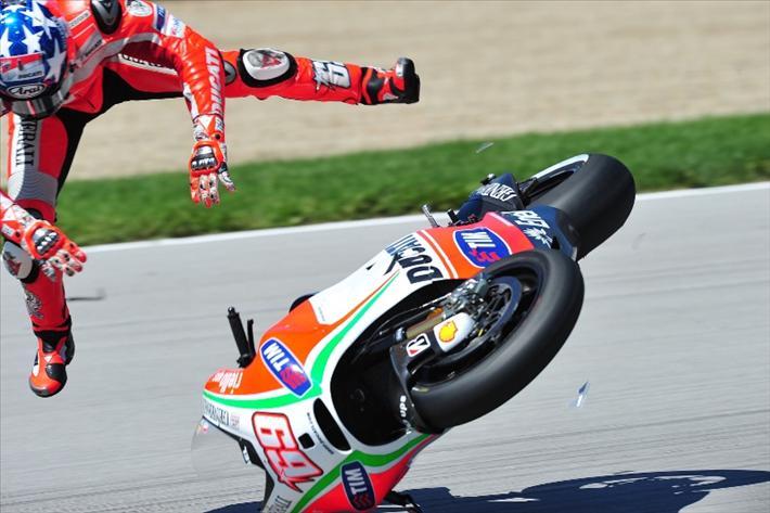 Keadaan Hayden Mulai Membaik Pasca Kecelakan Di MotoGP Aragon