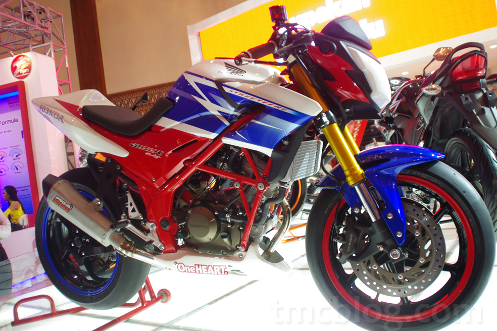 Honda CB150R Big Bike Look Concept, Ini Baru Sang Teralis… November