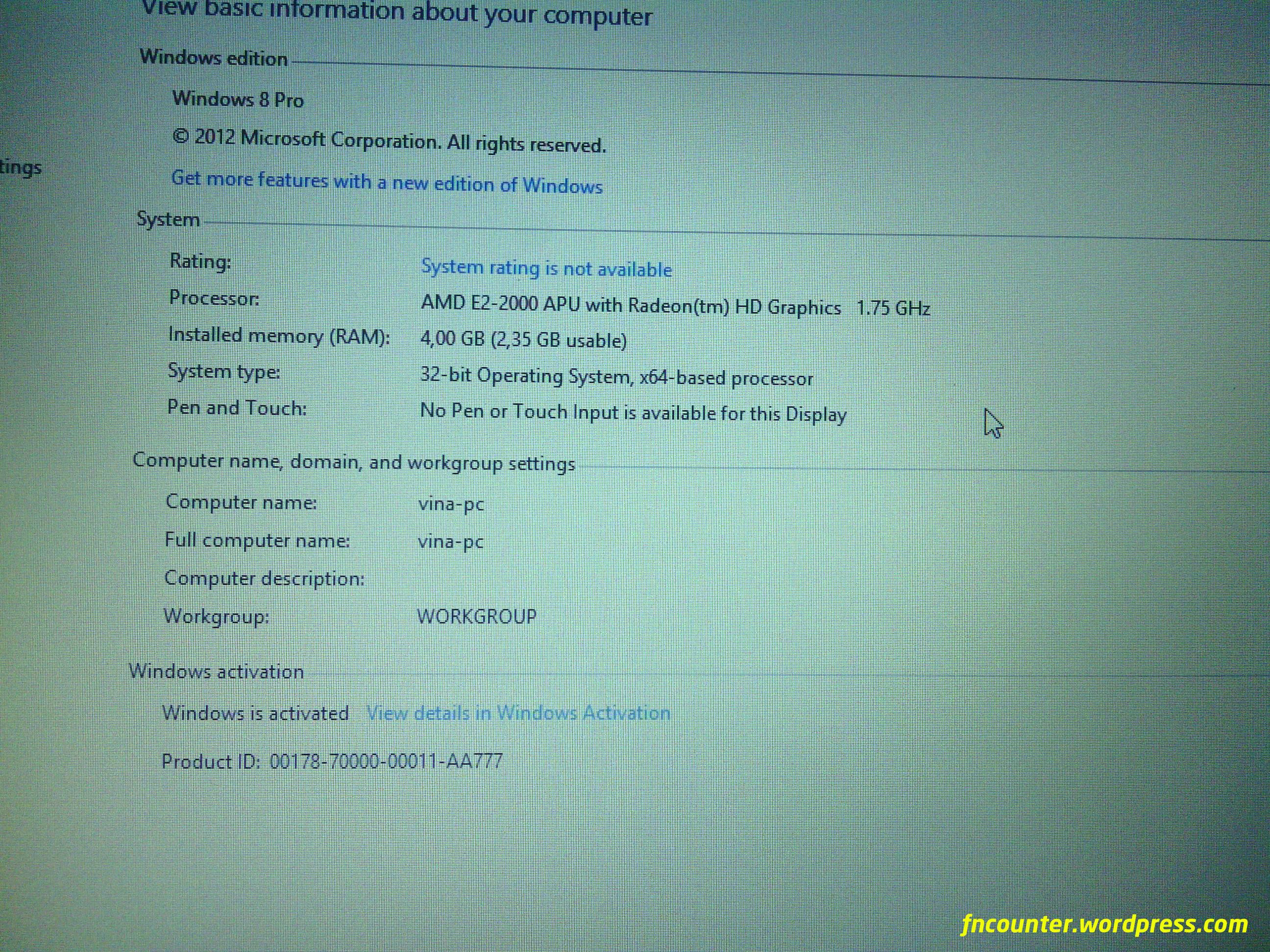 E2 Vision Amd Driver Download