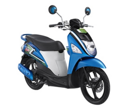 Suzuki Lets Sporty Cool Blue