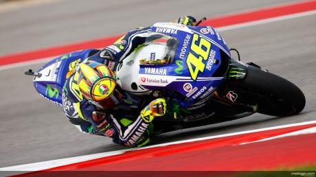 Rossi 4th, FP1 GP Austin 2014