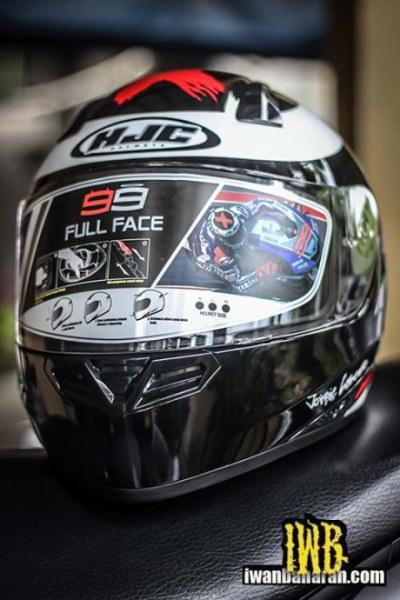 HJC Helmet, Replica Jorge Lorenzo