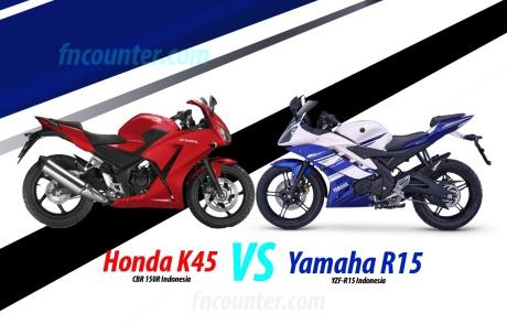 K45 (CBR 150R Indo), Yamaha R15