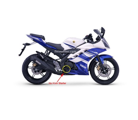 Yamaha R15 Indo - No Kick Starter