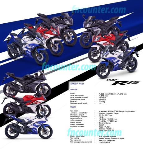 Yamaha R15 Specs Indo