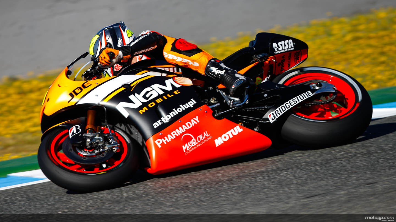 FP1 MotoGP Jerez Aleix Espargaro Fastest Lap On First Free