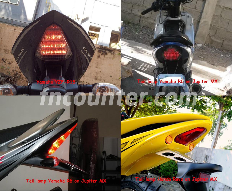 Tail Lamp Yamaha R15 Sasaran Empuk Modifikasi Undertail Dengan
