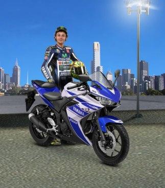 Yamaha R25-Rossi