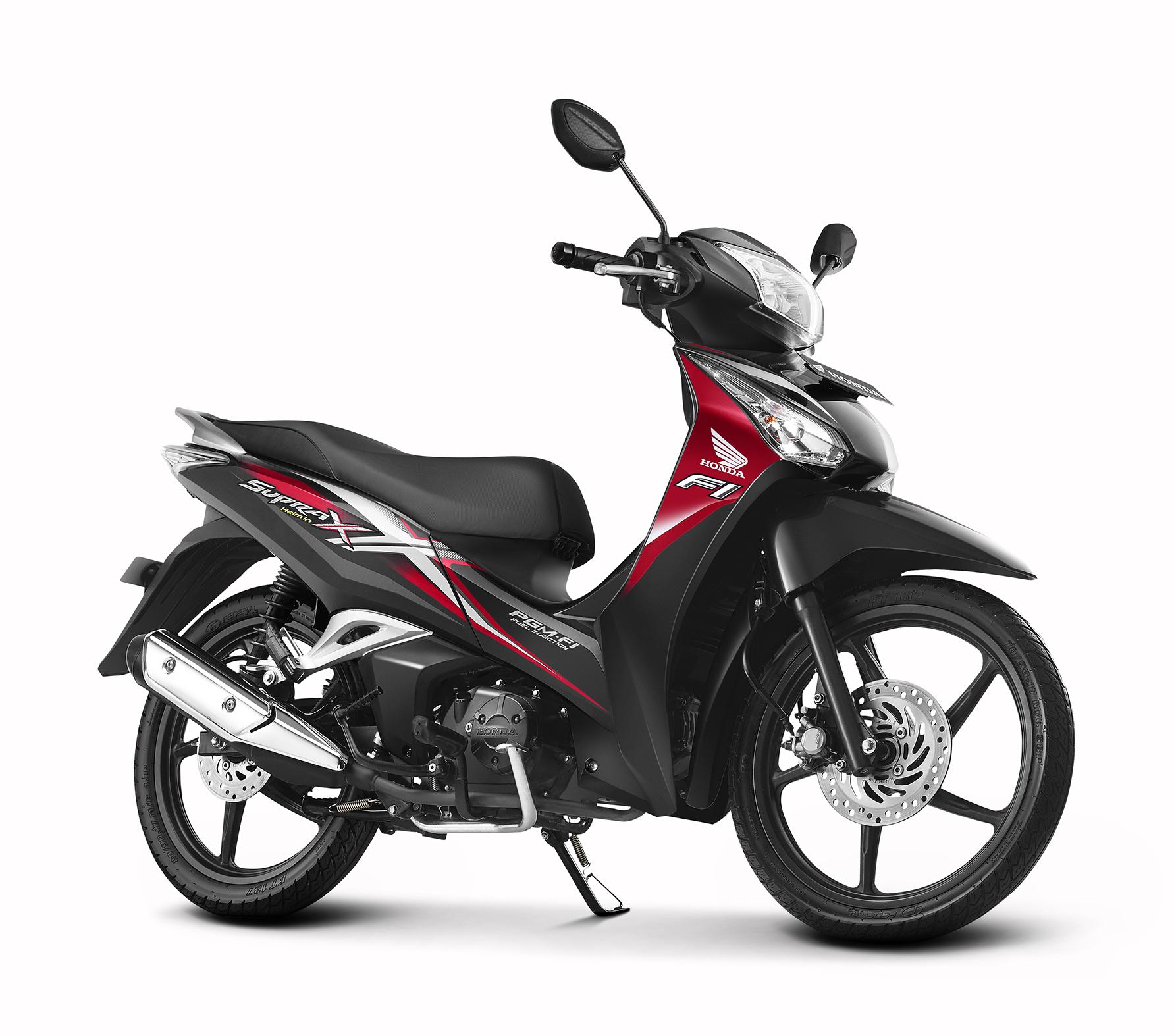 Honda Supra X 125 Helm In PGM FI Varian Baru Diluncurkan