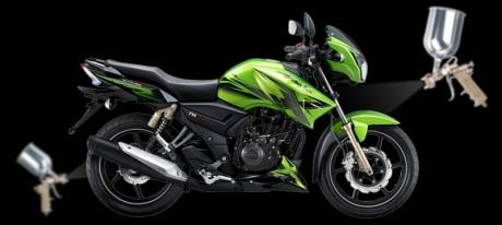 TVS-Apache-180-xventure-green