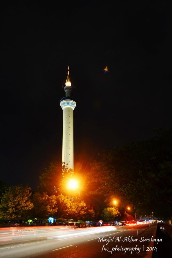 Menara Masjid Al-Akbar Surabaya