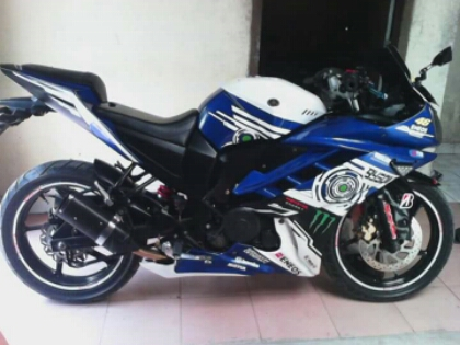 Top modifikasi byson fairing r15