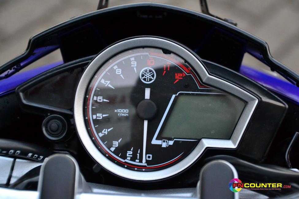 Tak Hanya Yang Fn Sebutkan Diatas Penyegaran Tampilan Pun Terlihat Juga Pada Dashboard Speedometer New Vixion Advance Memang Secara Bentuk Dan Fiturnya