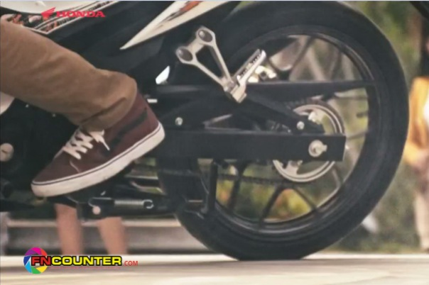 sonic 150 footstep