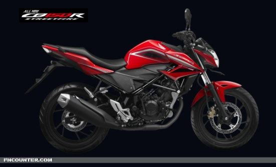All NEW CB150R Streetfire SIDE