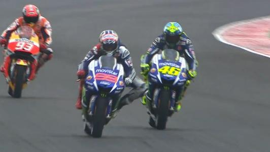 rossi battle misano