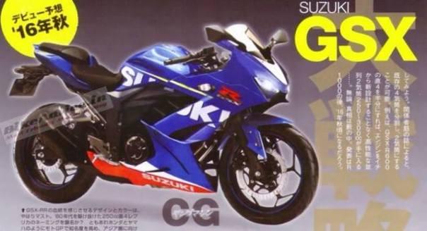 Suzuki GSX GIXXER 250