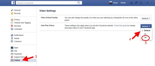 auto play video facebook 2