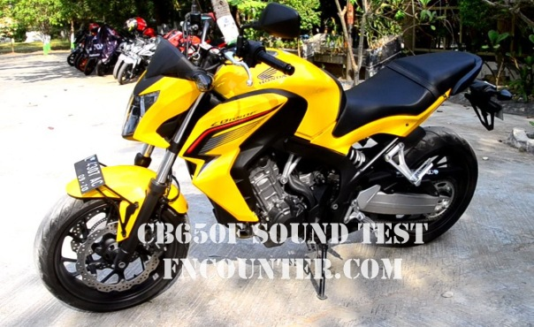 CB 650 test sound2