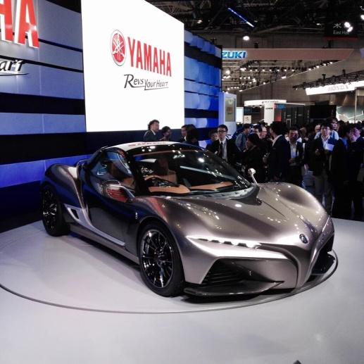 yamaha sport car concept TMS2015 1