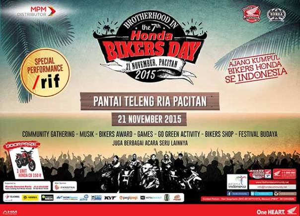 Honda-Bikers-Day-2015 Teleng Pacitan