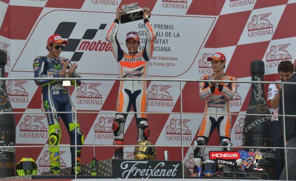 valencia 2014 podium