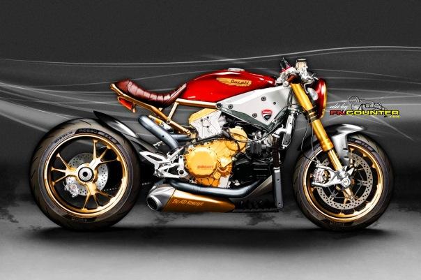 Ducati 1299 Cafe RRACERS
